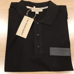 New Burberry Men's Casual Cotton Polo Shirt